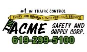 Acme Safety Supply Logo