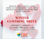Columbia Winter Clothing Drive