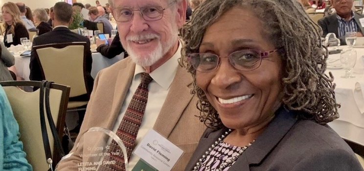 Volunteers of the Year: David and Letitia Fleming