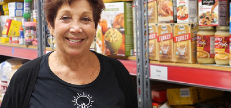 Duke's Story  |  Volunteering at our Food & Nutrition Center