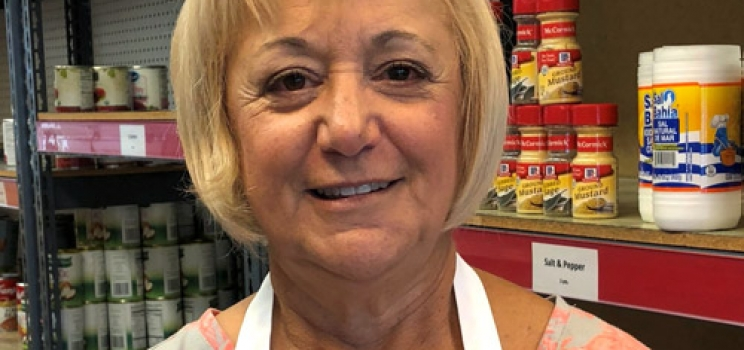 August Volunteer of the Month: Jeannette Pasut