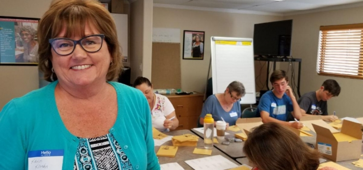 September Volunteer of the Month: Karin Kloehn
