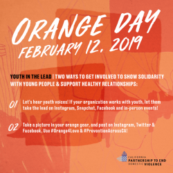 Open House – February and Orange Day